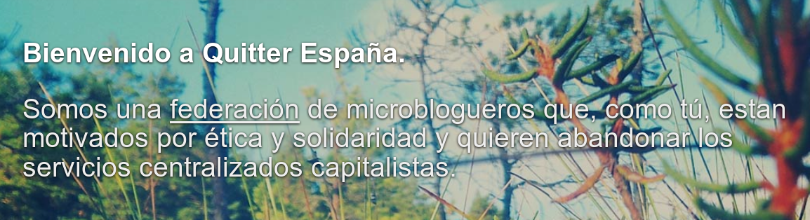 Captura del nodo Quitter España